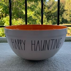 "NEW! Rae Dunn ""Happy Haunting"" Bowl"